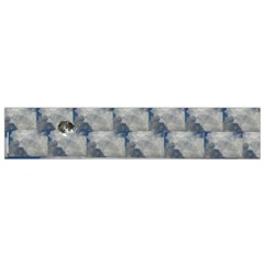 Kitten In The Clouds Flano Scarf (small) by SusanFranzblau