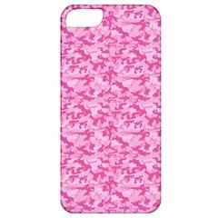 Shocking Pink Camouflage Pattern Apple Iphone 5 Classic Hardshell Case