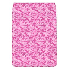 Shocking Pink Camouflage Pattern Flap Covers (l)  by tarastyle