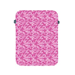 Shocking Pink Camouflage Pattern Apple Ipad 2/3/4 Protective Soft Cases
