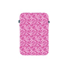 Shocking Pink Camouflage Pattern Apple Ipad Mini Protective Soft Cases