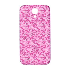 Shocking Pink Camouflage Pattern Samsung Galaxy S4 I9500/i9505  Hardshell Back Case