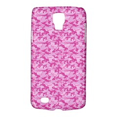 Shocking Pink Camouflage Pattern Galaxy S4 Active by tarastyle