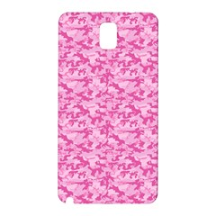 Shocking Pink Camouflage Pattern Samsung Galaxy Note 3 N9005 Hardshell Back Case
