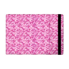 Shocking Pink Camouflage Pattern Ipad Mini 2 Flip Cases