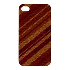 Stripes Course Texture Background Apple Iphone 4/4s Hardshell Case by Nexatart