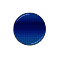 Blue Dot Hat Clip Ball Marker (4 Pack) by PhotoNOLA