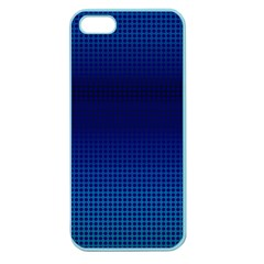 Blue Dot Apple Seamless Iphone 5 Case (color)