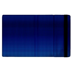 Blue Dot Apple Ipad 3/4 Flip Case by PhotoNOLA