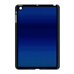 Blue Dot Apple Ipad Mini Case (black) by PhotoNOLA