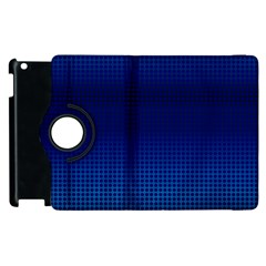 Blue Dot Apple Ipad 3/4 Flip 360 Case by PhotoNOLA