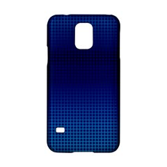 Blue Dot Samsung Galaxy S5 Hardshell Case  by PhotoNOLA