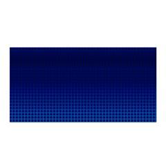 Blue Dot Satin Wrap by PhotoNOLA