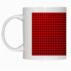Redc White Mugs by PhotoNOLA
