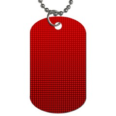 Redc Dog Tag (two Sides) by PhotoNOLA