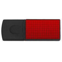 Redc Usb Flash Drive Rectangular (4 Gb) by PhotoNOLA