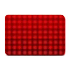 Redc Plate Mats by PhotoNOLA