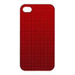 Redc Apple Iphone 4/4s Premium Hardshell Case by PhotoNOLA