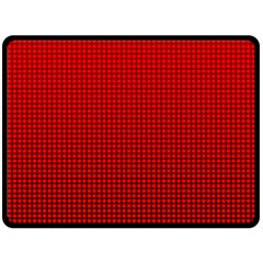 Redc Double Sided Fleece Blanket (large)  by PhotoNOLA