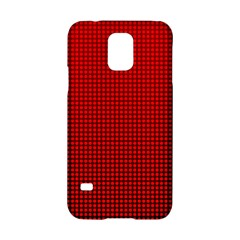 Redc Samsung Galaxy S5 Hardshell Case  by PhotoNOLA