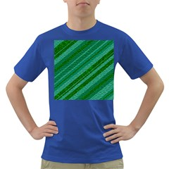 Stripes Course Texture Background Dark T Shirt
