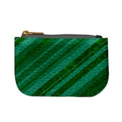 Stripes Course Texture Background Mini Coin Purses