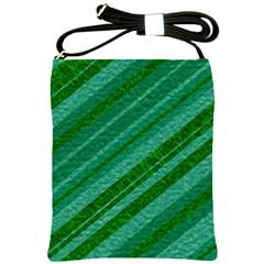 Stripes Course Texture Background Shoulder Sling Bags