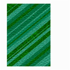 Stripes Course Texture Background Small Garden Flag (two Sides) by Nexatart