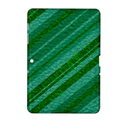 Stripes Course Texture Background Samsung Galaxy Tab 2 (10 1 ) P5100 Hardshell Case  by Nexatart