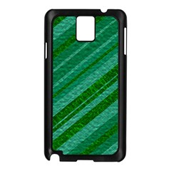 Stripes Course Texture Background Samsung Galaxy Note 3 N9005 Case (black)