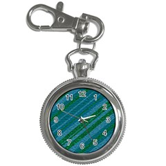 Stripes Course Texture Background Key Chain Watches by Nexatart