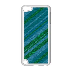 Stripes Course Texture Background Apple Ipod Touch 5 Case (white) by Nexatart