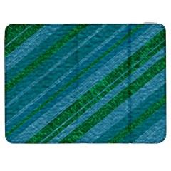 Stripes Course Texture Background Samsung Galaxy Tab 7  P1000 Flip Case by Nexatart