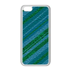 Stripes Course Texture Background Apple Iphone 5c Seamless Case (white) by Nexatart