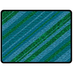 Stripes Course Texture Background Double Sided Fleece Blanket (large)  by Nexatart