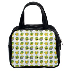 St Patrick S Day Background Symbols Classic Handbags (2 Sides) by Nexatart