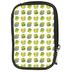 St Patrick S Day Background Symbols Compact Camera Cases by Nexatart