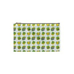 St Patrick S Day Background Symbols Cosmetic Bag (small)  by Nexatart