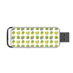 St Patrick S Day Background Symbols Portable Usb Flash (two Sides) by Nexatart