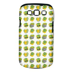 St Patrick S Day Background Symbols Samsung Galaxy S Iii Classic Hardshell Case (pc+silicone) by Nexatart