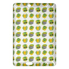 St Patrick S Day Background Symbols Amazon Kindle Fire Hd (2013) Hardshell Case by Nexatart