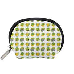 St Patrick S Day Background Symbols Accessory Pouches (small)