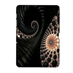 Fractal Black Pearl Abstract Art Samsung Galaxy Tab 2 (10 1 ) P5100 Hardshell Case  by Nexatart