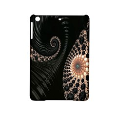 Fractal Black Pearl Abstract Art Ipad Mini 2 Hardshell Cases