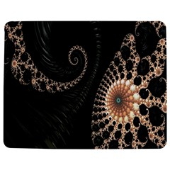 Fractal Black Pearl Abstract Art Jigsaw Puzzle Photo Stand (rectangular)