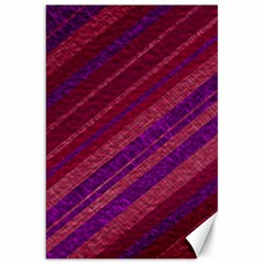 Stripes Course Texture Background Canvas 20  X 30   by Nexatart