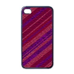 Stripes Course Texture Background Apple Iphone 4 Case (black)