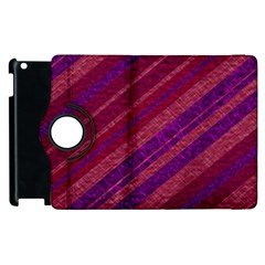 Stripes Course Texture Background Apple Ipad 3/4 Flip 360 Case by Nexatart