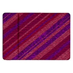 Stripes Course Texture Background Samsung Galaxy Tab 8 9  P7300 Flip Case