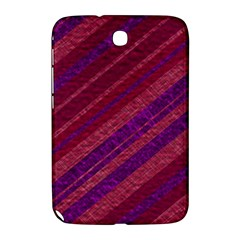 Stripes Course Texture Background Samsung Galaxy Note 8 0 N5100 Hardshell Case  by Nexatart